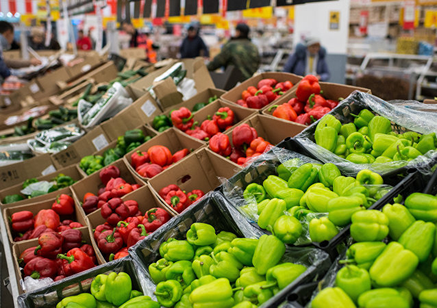 Tureckie warzywa w rosyjskich sklepach
