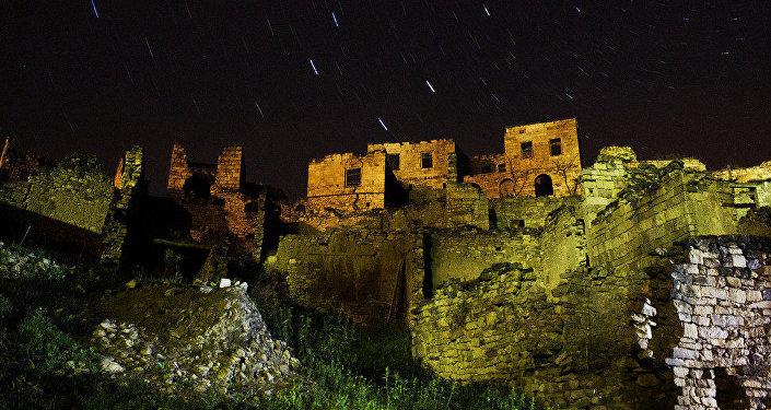 Ruiny. Wioska Kullab