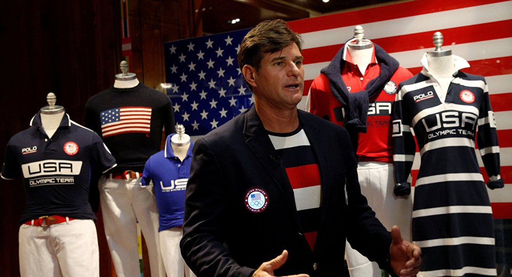 Stroje amerykańskiej reprezentacji na Olimpiadę w Rio