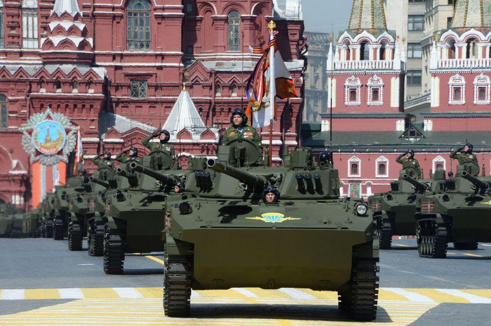 BMD-4M Sadownica na Placu Czerwonym, 9 maja 2015