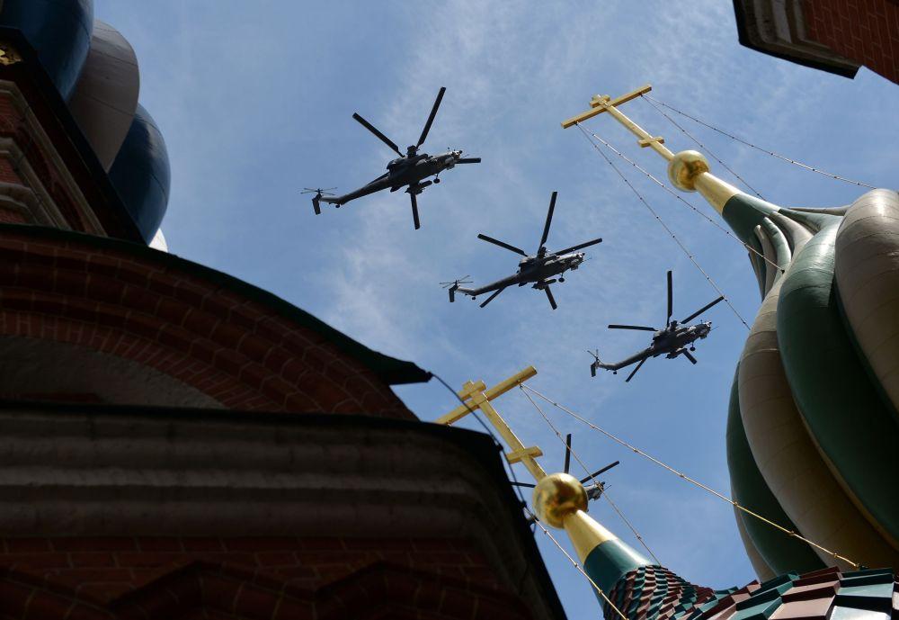 Grupa śmigłowców transportowo-bojowych Mi-8