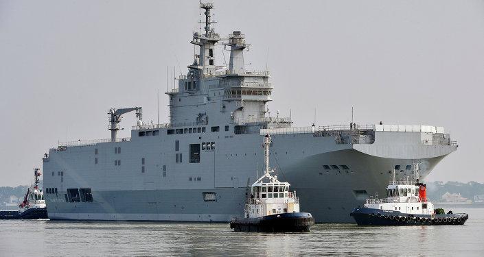 Okręt typu Mistral