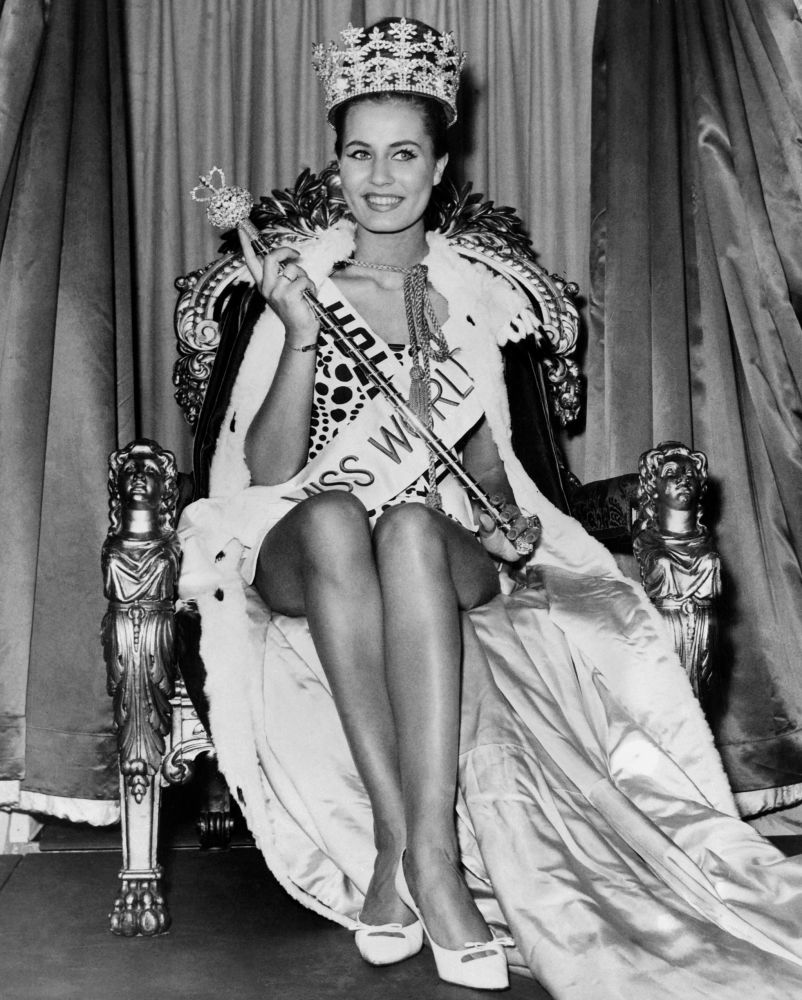 Miss World - 1962 Catharina Lodders z Holandii