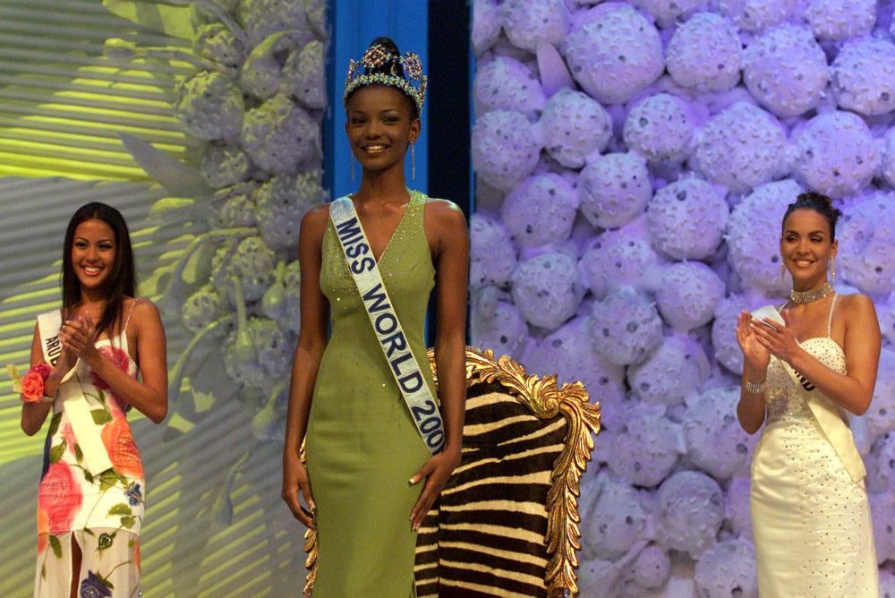 Miss World - 2001 Agbani Darego z Nigerii