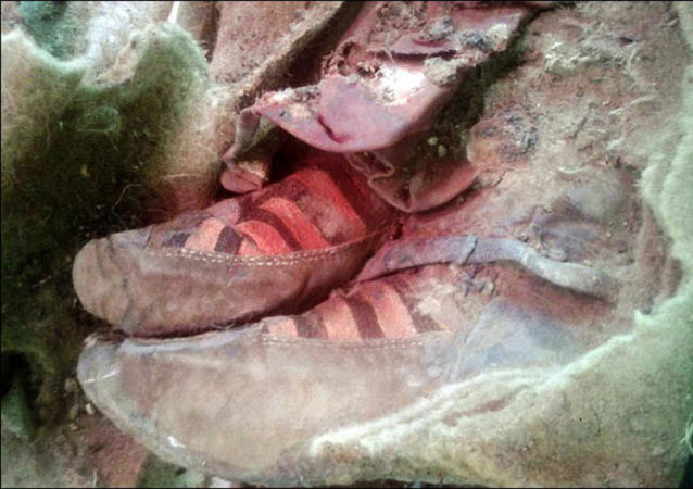 Mumia w adidasach z Ałtaju