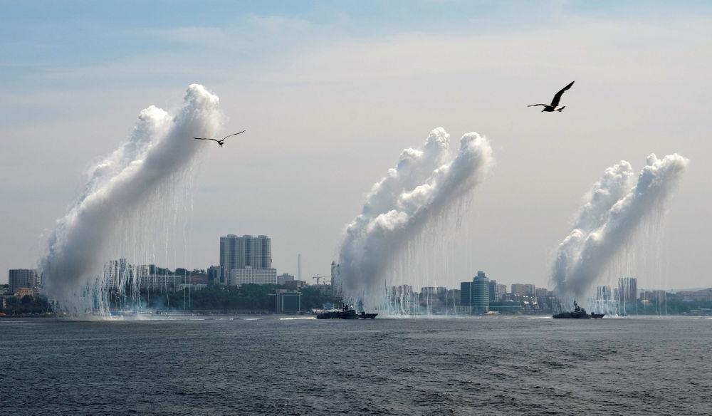 Obchody Dnia Marynarki Wojennej we Władywostoku