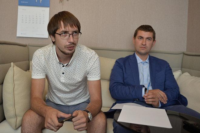 Dmitrij Achromow i Michaił Osadczenko.