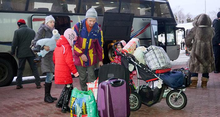 Uchodźcy z Ukrainy