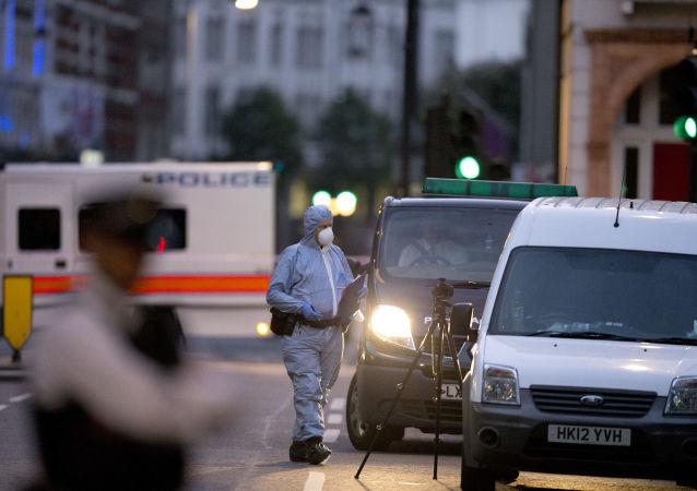Atak nożownika w Londynie