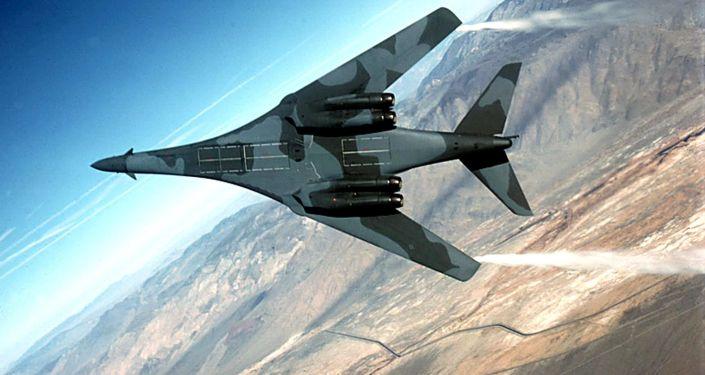 Amerykański samolot bombowy B-1B Lancer