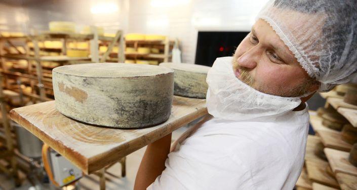 Oleg Sirota, założyciel serowarni Rosyjski Parmezan