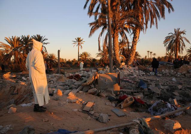 Obóz Daesh w Libii po amerykańskim nalocie