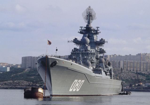 Krążownik atomowy Admirał Nachimow projektu 1144 Orłan