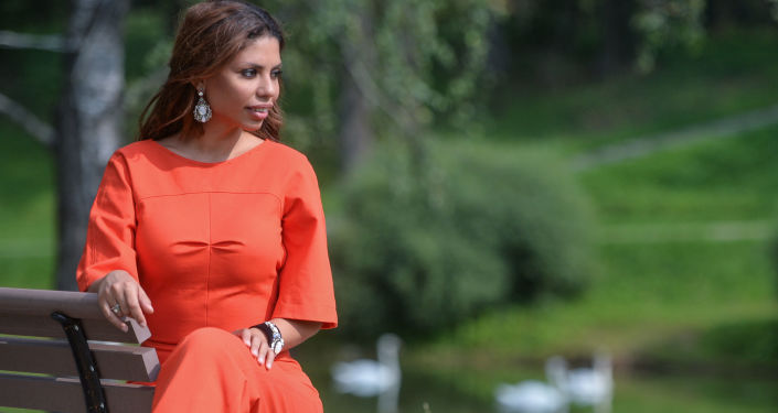 Brazylijska śpiewaczka Gabriela - Ana Lucia Gomes da Silva