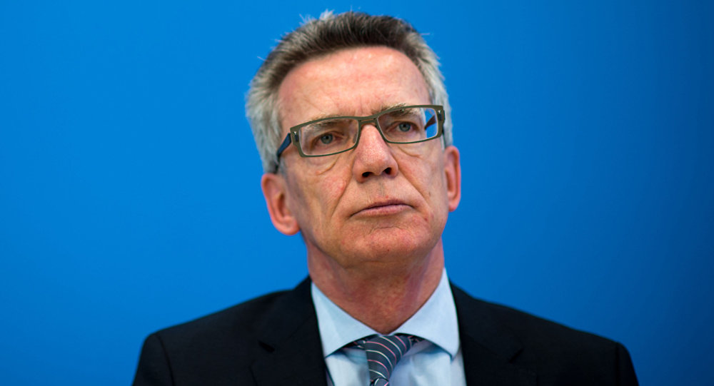 Szef MSW Niemiec Thomas de Maizière