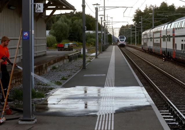 Atak nożownika w szwajcarskim pociągu