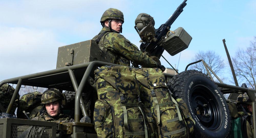 Wojsko Czech na ćwiczeniach NATO