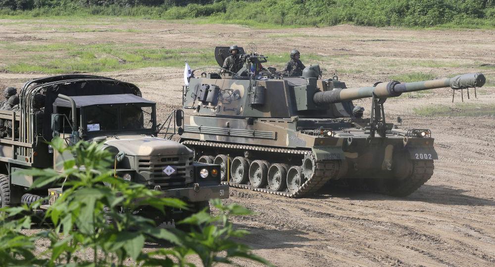 Działo samobieżne K-9 południowokoreańskiej armii