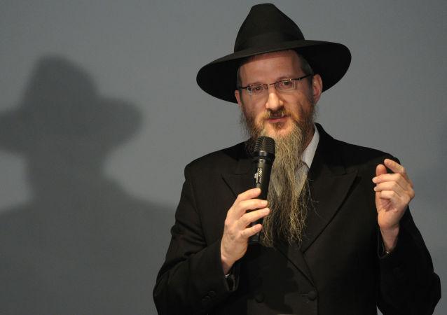 Naczelny rabin Rosji Berel Lazar