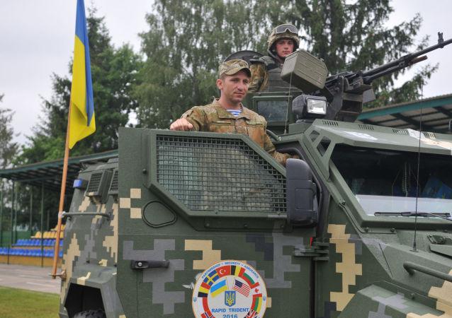 Międzynarodowe manewry Rapid trident-2016 w obwodzie lwowskim