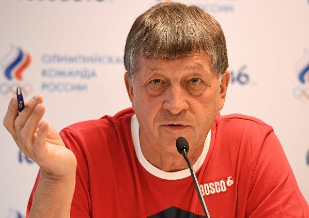 Szef rosyjskiej delegacji na Olimpiadzie w Rio de Janeiro Igor Kazikow.