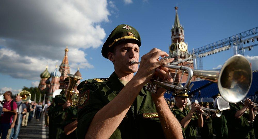 Międzynarodowy Festiwal Orkiestr Wojskowych Spasskaja Basznia.