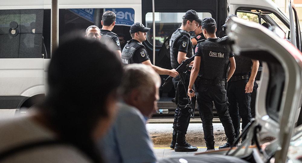 Atak rakietowy na tureckie lotnisko w Diyarbakir