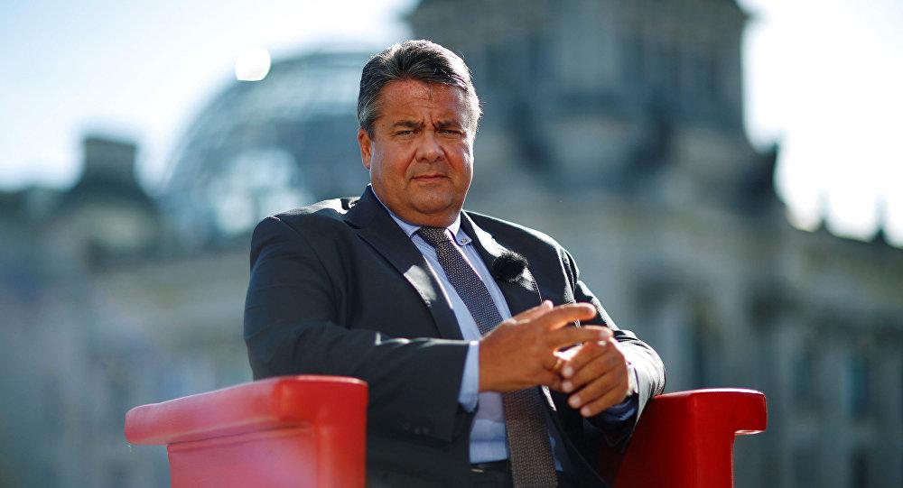 Wicekanclerz i minister gospodarki Niemiec Sigmar Gabriel