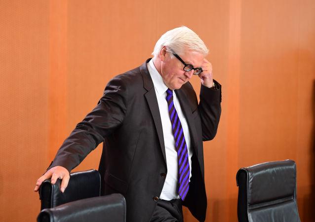 Minister spraw zagranicznych Niemiec Frank Walter-Steinmeier