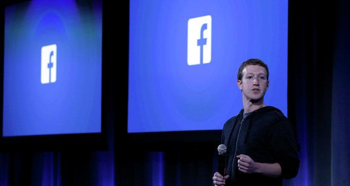 Założyciel i dyrektor generalny Facebooka Mark Zuckerberg