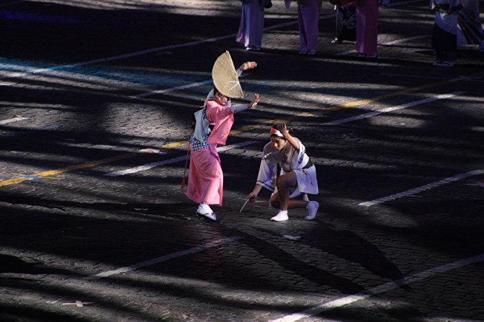 Spasskaja basznia -2016, wystąpienie uczestników z Japonii