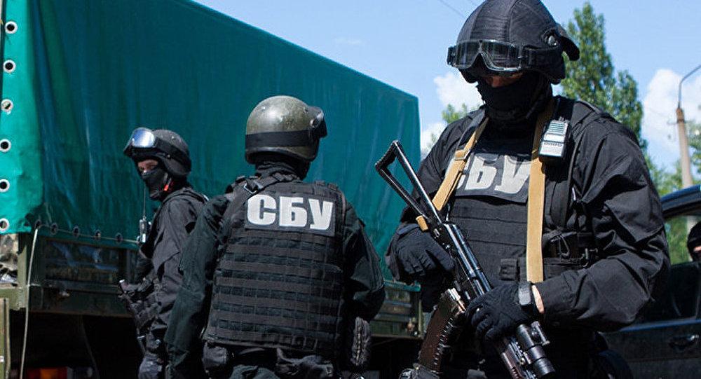 Ukrainia. Służba bezpieczeństwa Ukrainy.