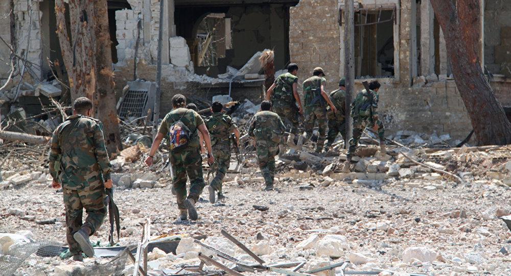 Konflikt w Syrii. Aleppo