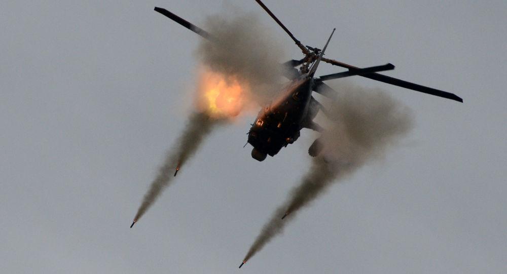 """Obecnie w Arseniewskich Zakładach Lotniczych """"Progress"""" w interesie Sił Powietrzno-Kosmicznych Rosji i zagranicznych klientów budowane są śmigłowce bojowe Ka-52 """"Aligator"""" i ich wersja okrętowa - Ka-52K."""