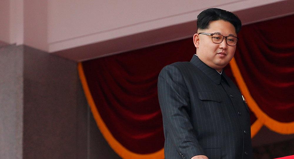 Lider Korei Północnej Kim Dzong Un