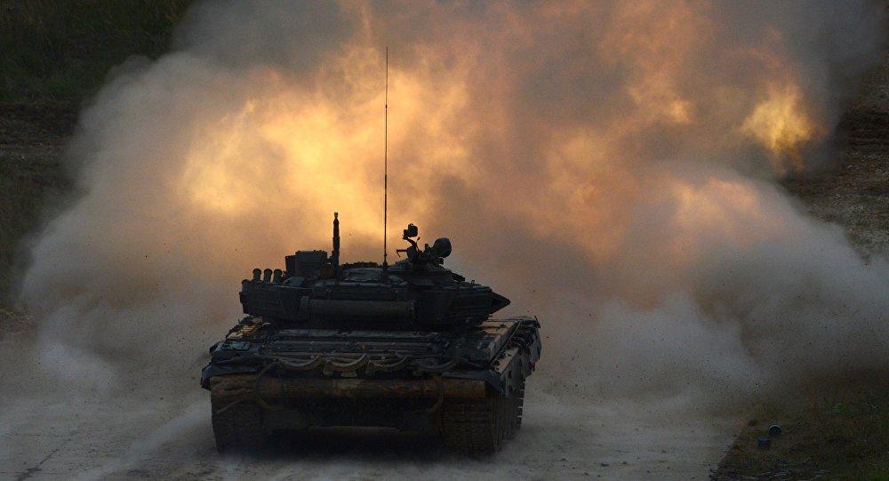 Czołg T-90 na międzynarodowym forum Armia-2016