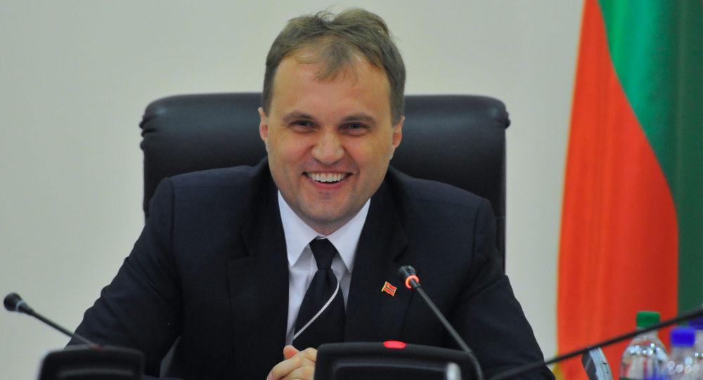 Prezydent Naddniestrzańskiej Republiki Mołdawskiej Jewgienij Szewczuk