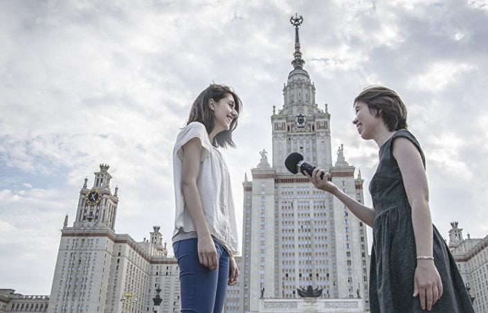 W Rosji nauczyłam się samodzielnie żyć, nabyłam innych przyzwyczajeń i prowadzę inny tryb życia.