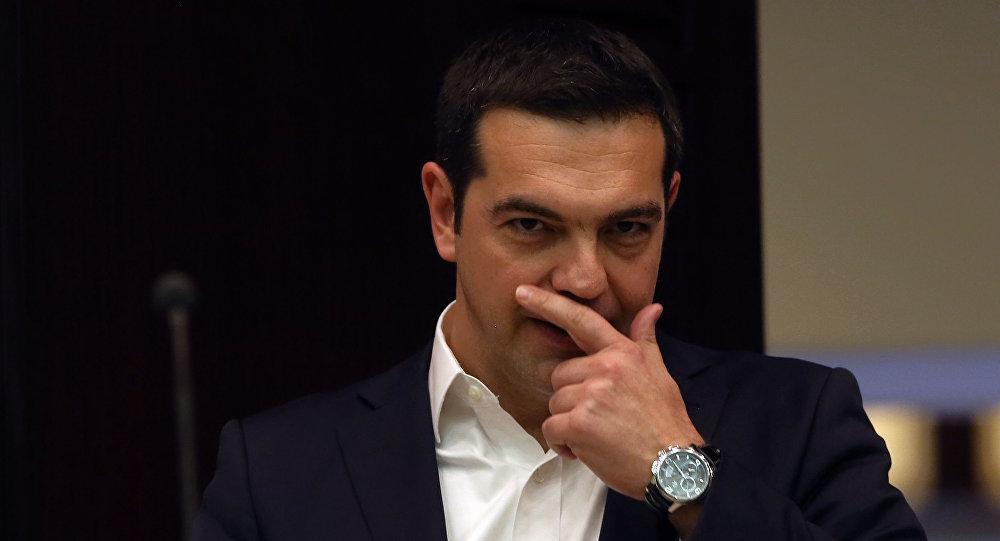 Premier Grecji Aleksis Cipras