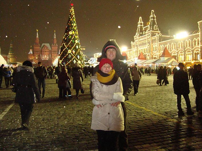 Noworoczna Moskwa.