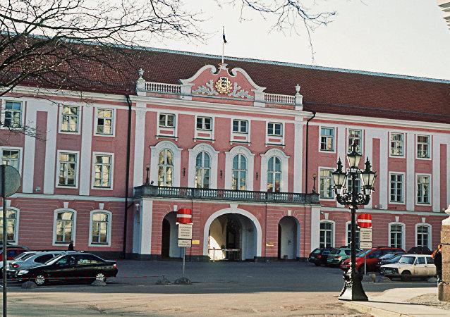 Siedziba parlamentu w Tallinnie