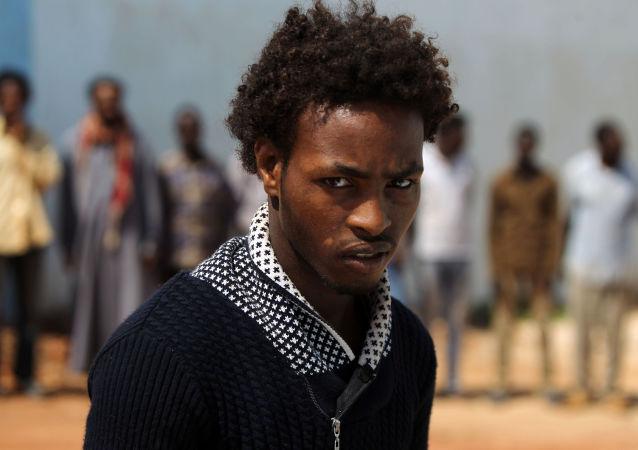 Libijski imigrant