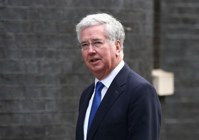 Minister obrony Wielkiej Brytanii Michael Fallon