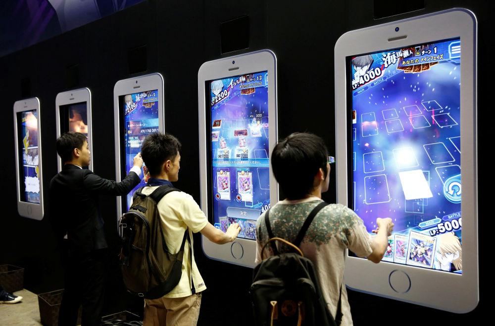Targi Tokyo Game Show 2016 w Tokio, wrzesień 2016