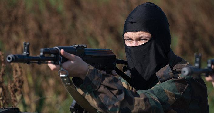 Kobiecy oddział specjalny.