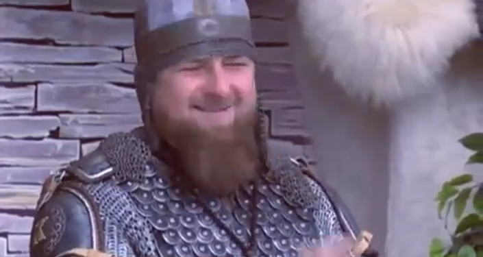 Kadyrow zamienił się w rycerza