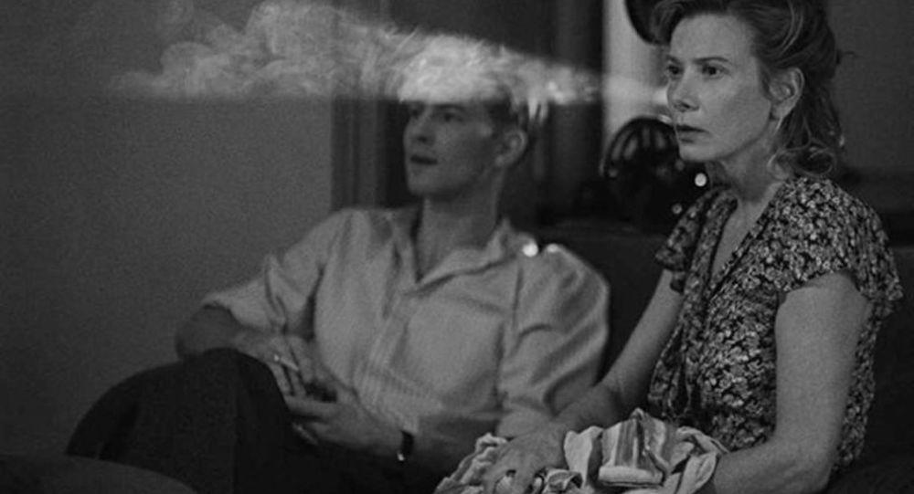Kadr z filmu Raj Andrieja Konczałowskiego
