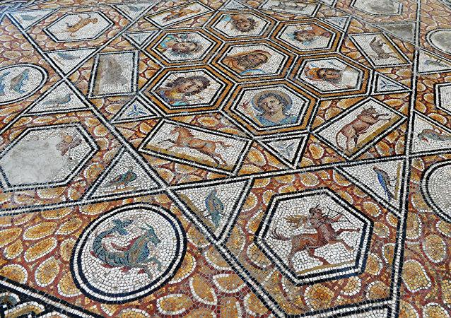 System zodiakalny. Muzeum w Tunezji.