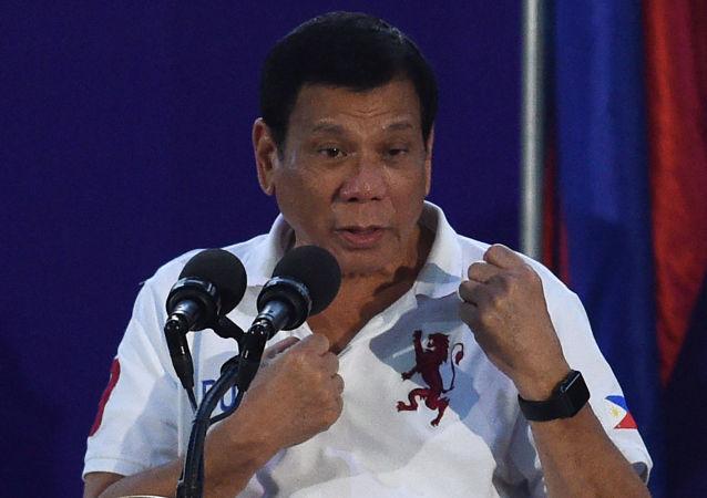 Filipiński prezydent Rodrigo Duterte