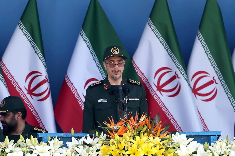 Szef Sztabu Generalnego Sił Zbrojnych Iranu generał Mohammad Hossein Bagheri